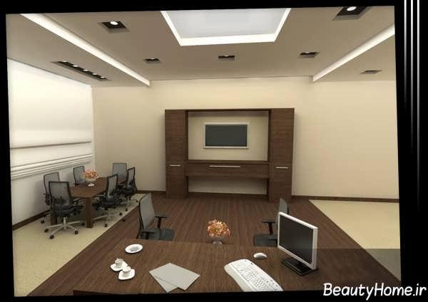طراحی داخلی اتاق ریاست