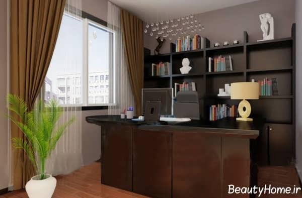 دکوراسیون زیبا و متفاوت اتاق ریاست