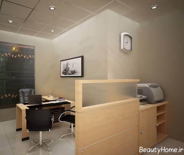 طراحی داخلی شیک و کاربردی اتاق ریاست