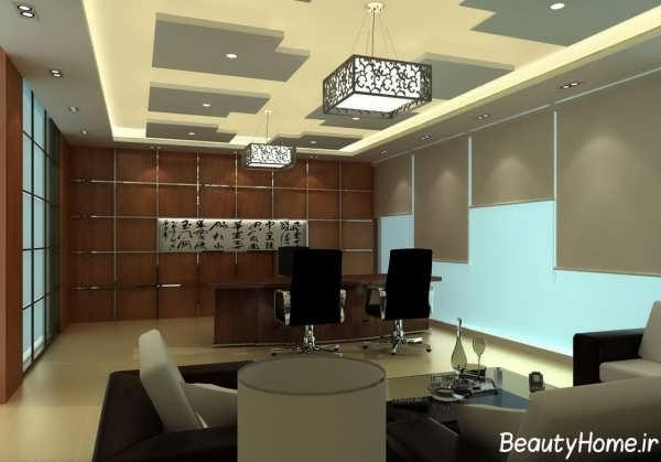 طراحی داخلی اتاق مدیریت