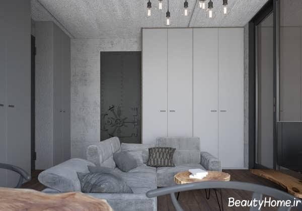 نورپردازی آپارتمان کوچک