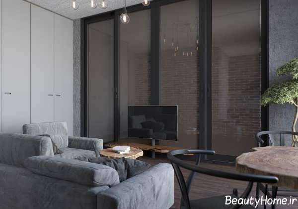 طراحی شیک و کاربردی آپارتمان