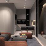 طراحی دکوراسیون آپارتمان کوچک