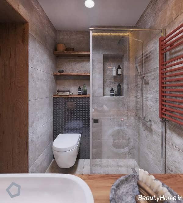 طراحی داخلی آپارتمان کوچک و شیک