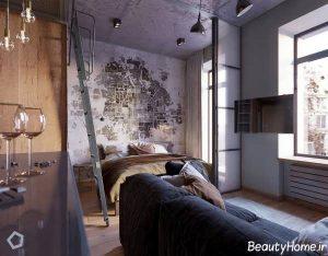 دکوراسیون داخلی 5 آپارتمان کوچک