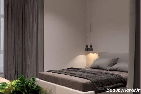 دکوراسیون اتاق خواب کوچک و مدرن
