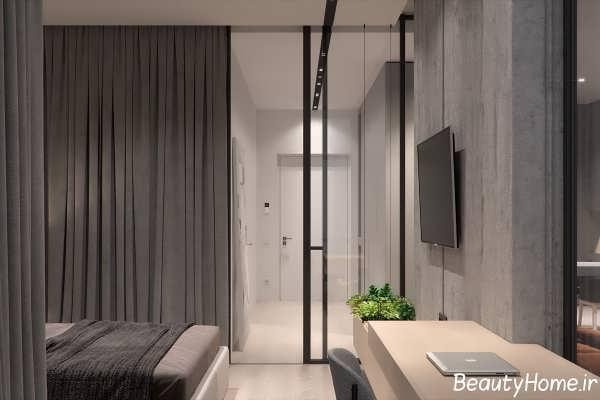 دکوراسیون آپارتمان مدرن و کوچک