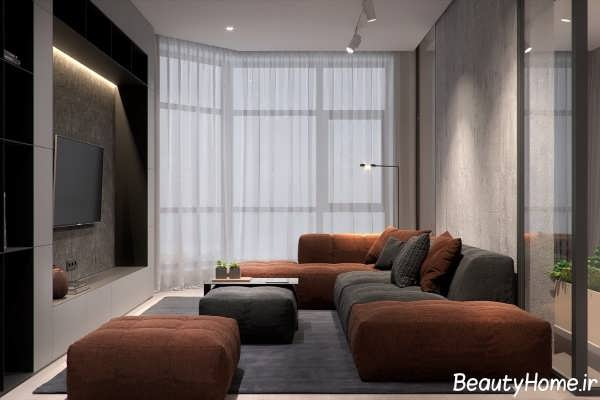طراحی دکوراسیون 5 آپارتمان کوچک و شیک
