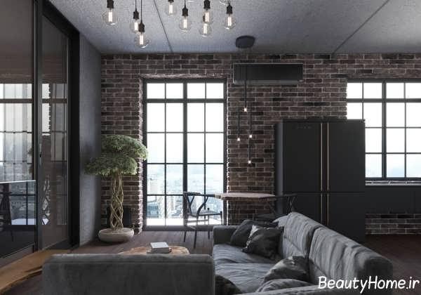 طراحی دکوراسیون خانه مدرن و کوچک