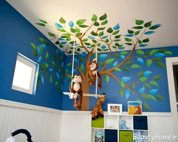 انواع تزئینات اتاق نوزاد پسر