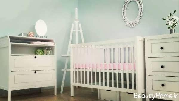 جدیدترین دکوراسیون اتاق خواب نوزاد پسرانه