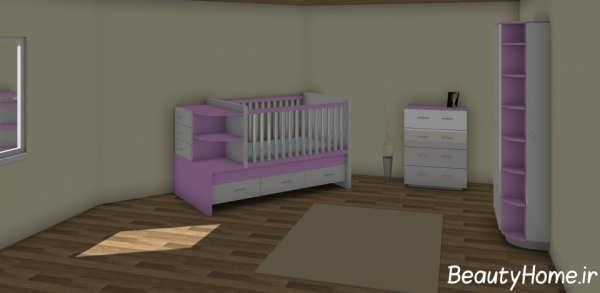 بهترین دکوراسیون اتاق خواب نوزاد
