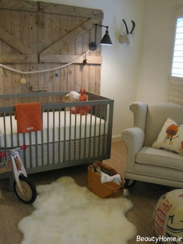 دکوراسیون اتاق خواب نوزاد پسر