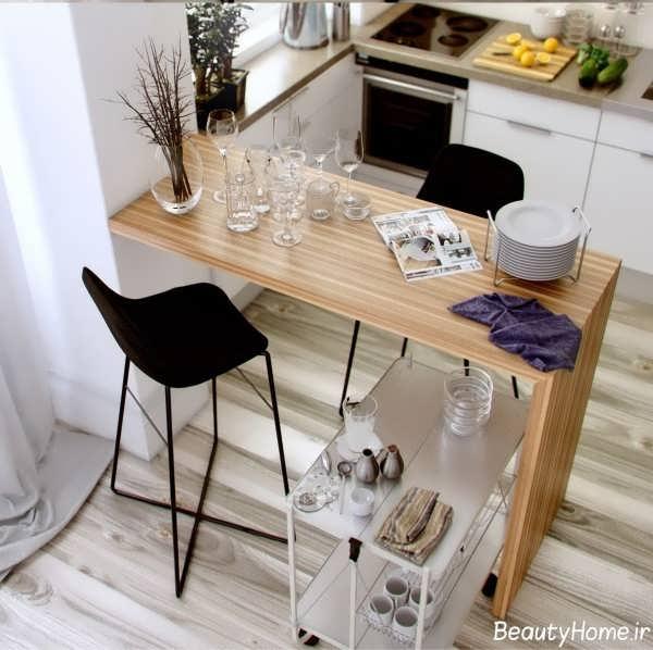 ایده هایی برای طراحی میز صبحانه خوری