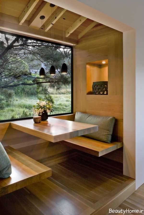 ایده هایی برای طراحی اتاق صبحانه خوری