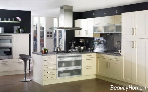 کابینت جزیره جداکننده در آشپزخانه