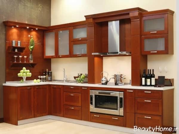 دکوراسیون جدید آشپزخانه قدیمی و کلاسیک