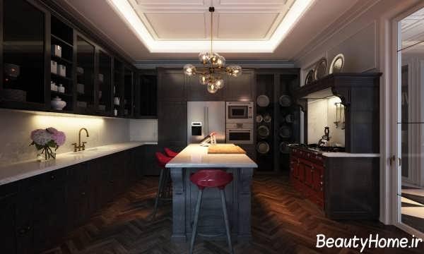 تجهیزات داخلی آشپزخانه کلاسیک