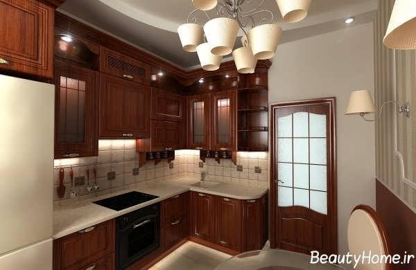 طراحی دکوراسیون آشپزخانه کلاسیک