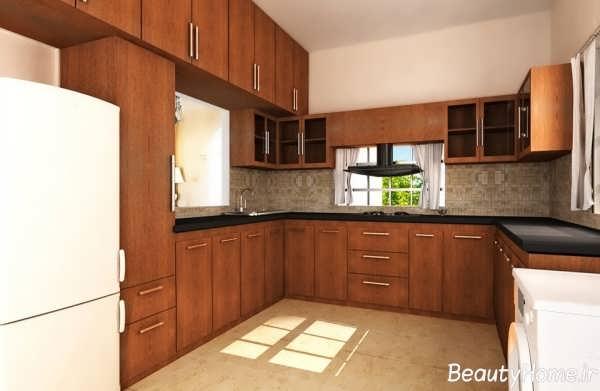 دکوراسیون آشپزخانه شیک و کلاسیک