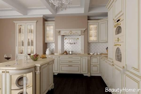 دکوراسیون متفاوت آشپزخانه کلاسیک