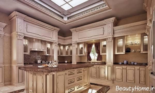 دکوراسیون ویژه آشپزخانه کلاسیک