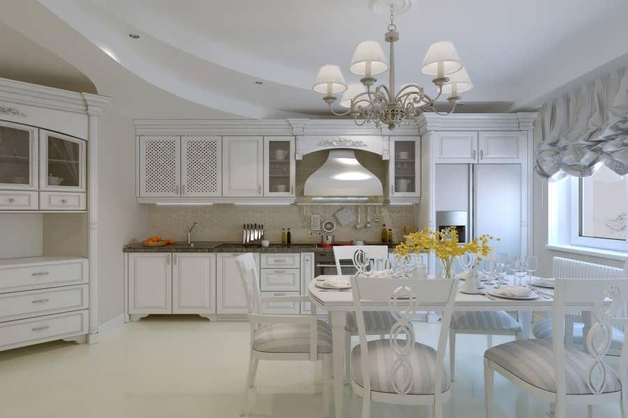 جدیدترین دکوراسیون آشپزخانه کلاسیک