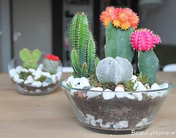 ساخت گلدان های زیبا و دست ساز