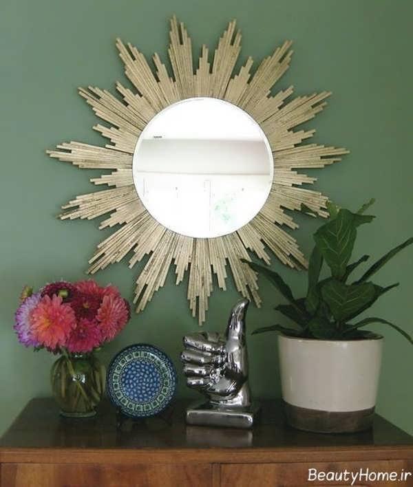 تزیین منزل با آینه