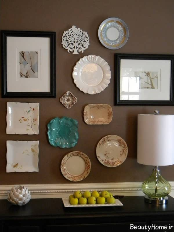 تزیین منزل با وسایل ساده و دور زیر و ایده های جالب