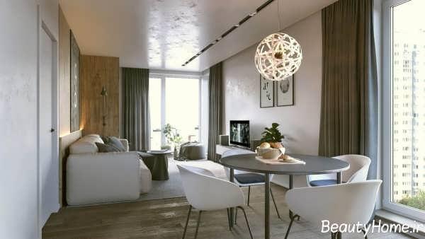 دکوراسیون خانه 70 متری با طراحی شیک و مدرن