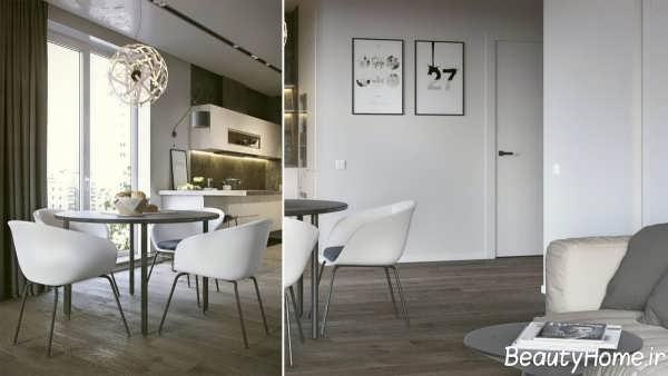 دکوراسیون داخلی زیبا آپارتمان