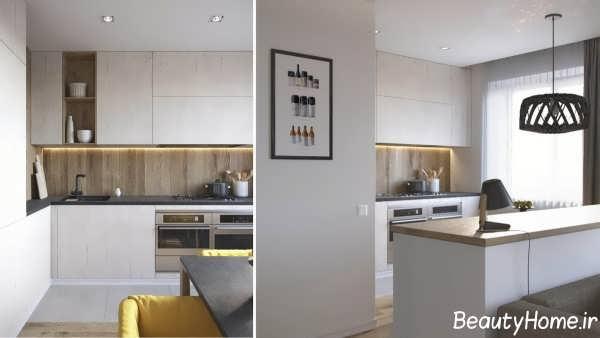 دکوراسیون خانه 70 متری با دیزاین شیک و کاربردی