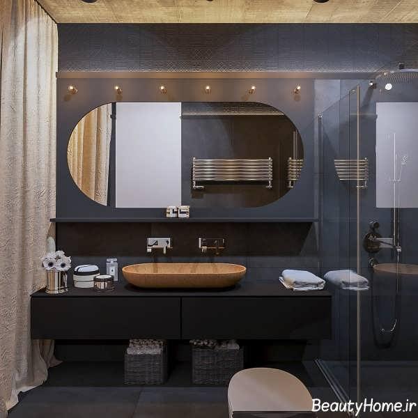 مدرن ترین دکوراسیون چوبی سرویس بهداشتی