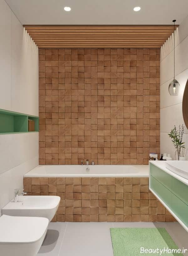 بهترین دکوراسیون چوبی حمام
