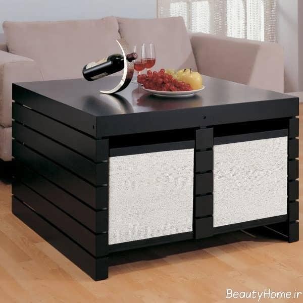میز جلو مبلی جادار و مدرن