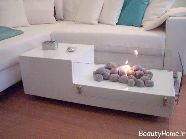 طراحی مدرن میز جلو مبلی