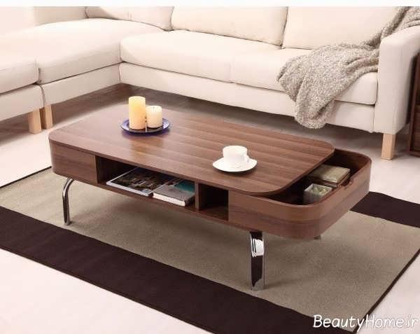 میز جلو مبلی خاص و مدرن