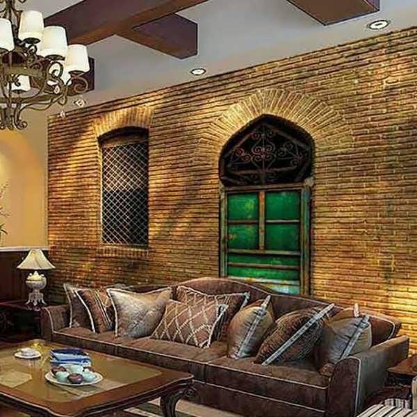 کاغذ دیواری جدید بناهای قدیمی