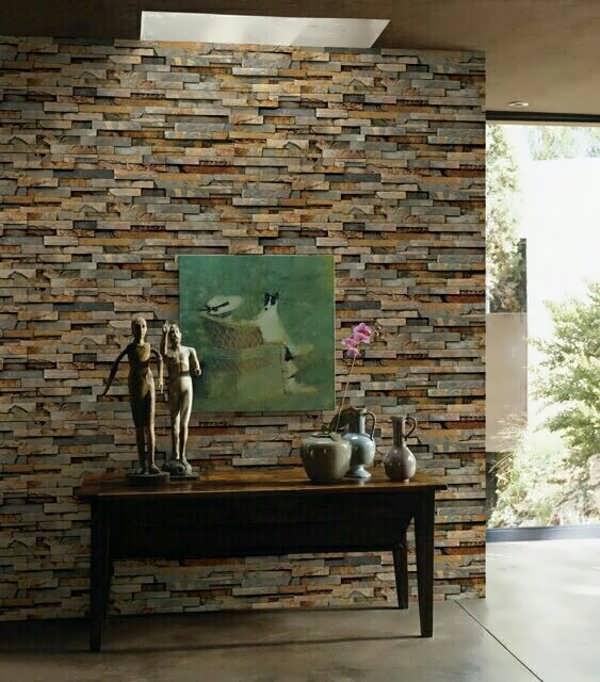 کاغذ دیواری جدید با طرح سنگ