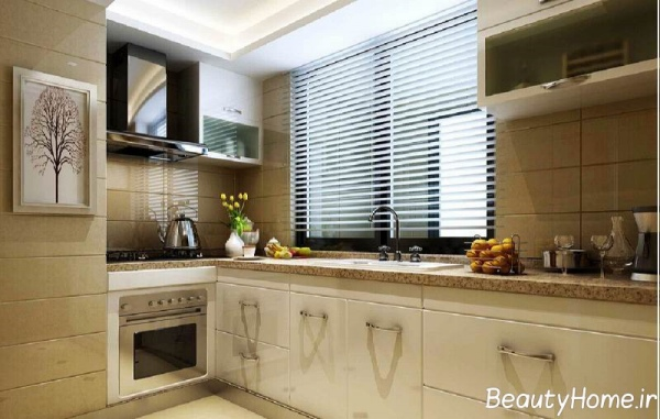 طراحی آشپزخانه معمولی و مدرن