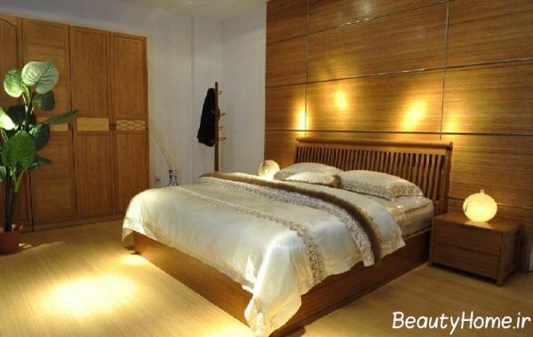 دکوراسیون اتاق خواب معمولی و زیبا
