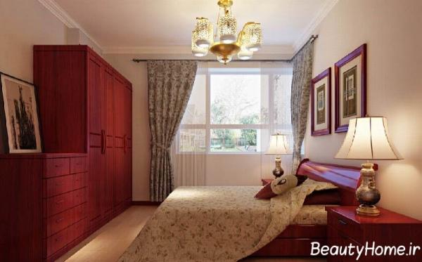 طراحی اتاق خواب معمولی و زیبا