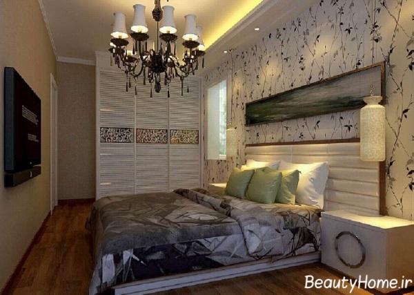 مدل چیدمان اتاق خواب معمولی و شیک