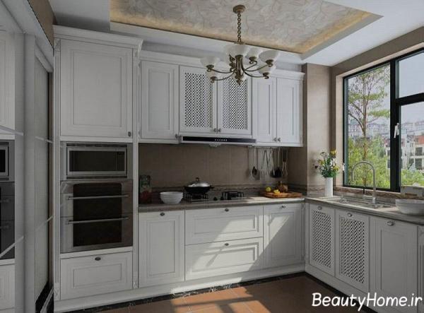 چیدمان آشپزخانه معمولی و زیبا