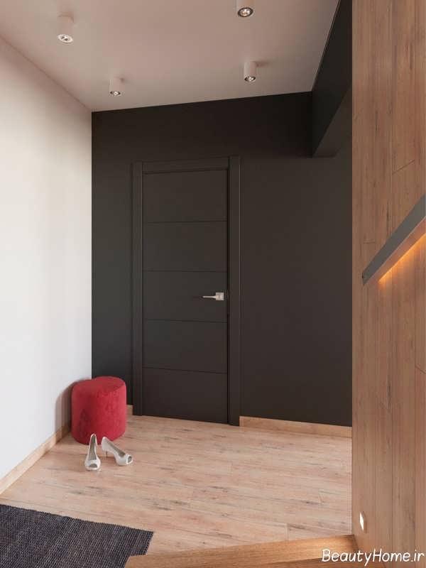 دکوراسیون شیک و مدرن خانه آپارتمانی