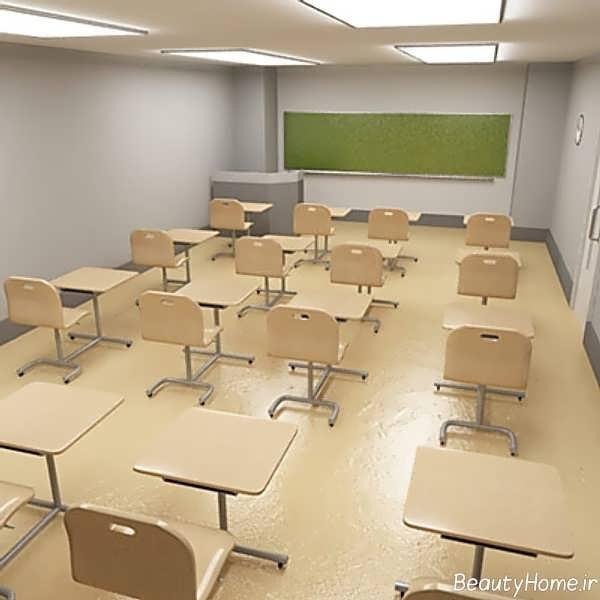 Classroom Design Models ~ دکوراسیون مدرسه با طراحی جدید و کاربردی