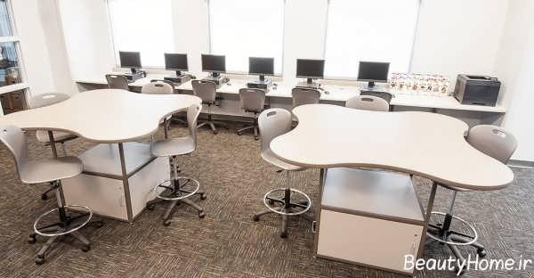 چیدمان صندلی در کلاس درس