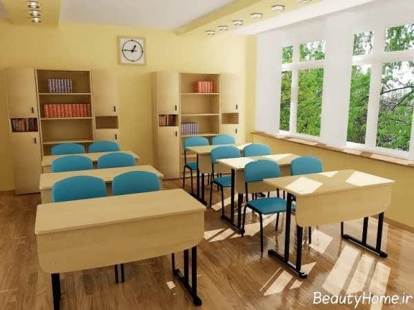 چیدمان و طراحی کلاس درس