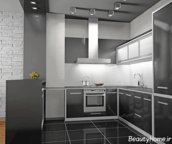 دکوراسیون آشپزخانه معمولی و ساده
